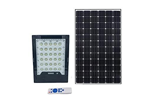 Faro led solare 200W luce fredda proiettore led rgb indicatore carica esterno