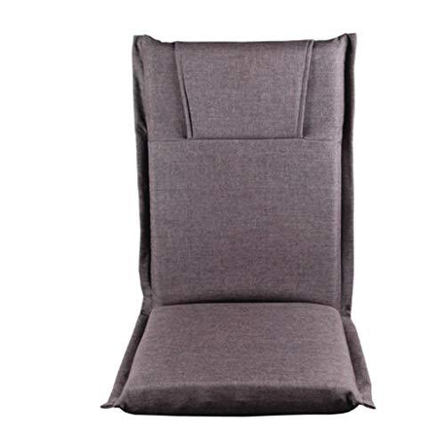 YUTRD ZCJUX Moderno Piso Lazy Lounge Silling Lightweight Portable Silla Plegable Tela tapizada Ocio Sofá Sillón Sillón (Color : B)