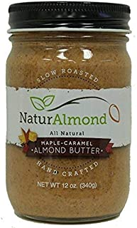 Naturalmond, Almond Butter Maple Caramel, 12 Ounce