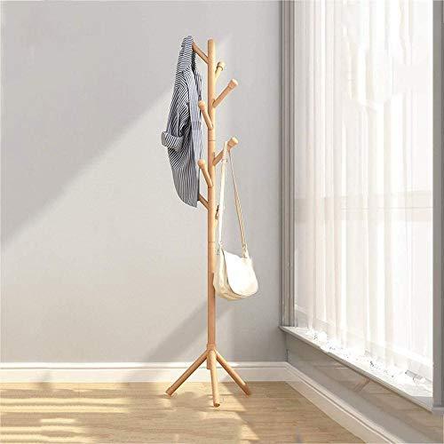 Pared pintura Bambú Perchero Suelo Y Zapatero Percha Combinación Dormitorio Simple Zapato de Banco de la Sala Hanger 80 * 31 * 170cm Taburete Cambiar Zapatos