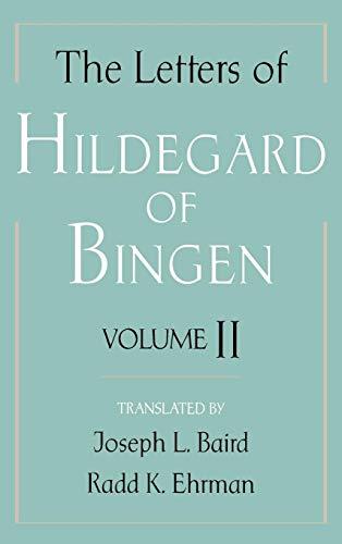 Download The Letters of Hildegard of Bingen 0195120108