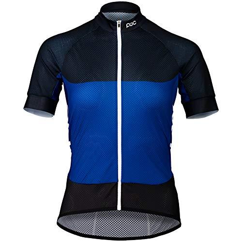 POC Fahrradtrikot Essential Road Damen Light Jersey Azurite Multi Blue SML