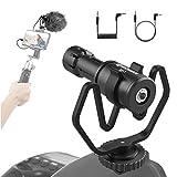 Moman Kamera Mikrofon, Richtmikrofon Shotgun DSLR...