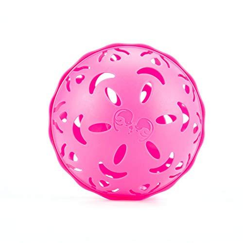 Eruditter Waschball Für Waschmaschinem, Waschkugel Für Flüssigwaschmittel, Biologischer Waschball Für Waschmaschine (Pink/Lila)