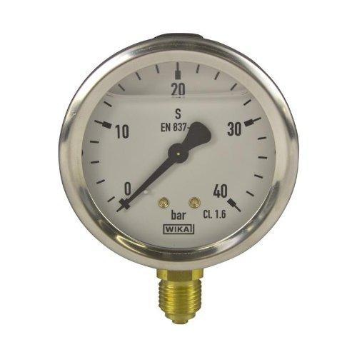 Manometer, NG63, 0-40 bar - WIKA 213.53-9022023