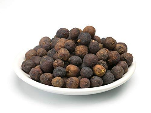 Bayas de enebro secas silvestres orgánicas 1 kg BIO, aromá