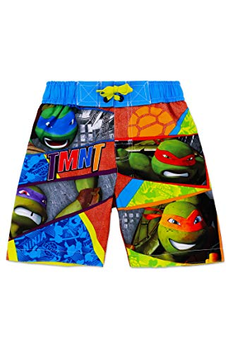 Boys' Teenage Mutant Ninja Turtles Swim Trunk 4