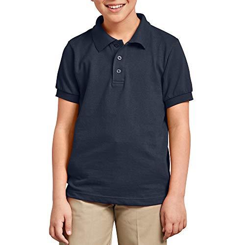 Dickies Piqué-Poloshirt für Jungen, kurzärmlig, Dunkelblau, Größe XXS