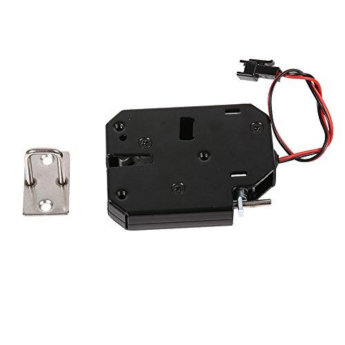 Fdit DC 12 V 2A Elektromagnetische Sperre Kohlenstoffstahl Elektrische Schaltschrank Schublade Schließfächer Sicherheitssystem