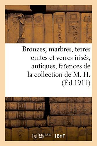 Bronzes, marbres, terres cuites et verres irisés, antiques, faïences de fouilles de Perse: et de Syrie, tapis d'Orient de la collection de M. H.