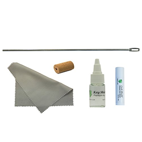 Instrument Clinic Flute Maintenance Kit, with Metal Cleaning Rod