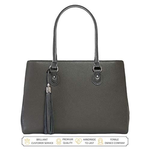 Laptop Tote Bag for Women - Luxury Designer Computer Bag -...