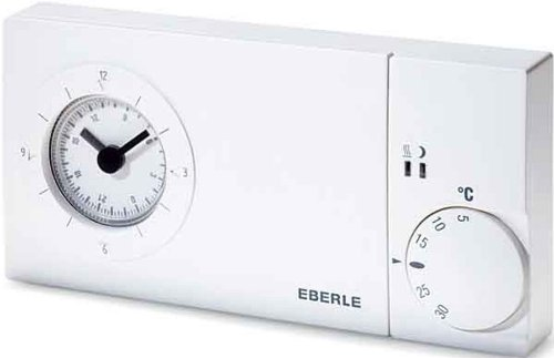Eberle EASY3PW - Termostato con reloj