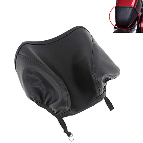 """YHMTIVTU Motorcycle 4.5"""" Fuel Tank Bra Pad Oil Tank Cover Guard Protector for Harley Sportster Iron 883 XL883N 2009-2017 1200 Roadster XL1200R 2004-2007"""