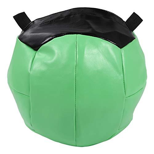 Basage 35Cm Medizinball Leere Snatch Wandkugeln HochleistungsüBung Kettlebell Lifting Fitness MB Muskelaufbau, GrüN