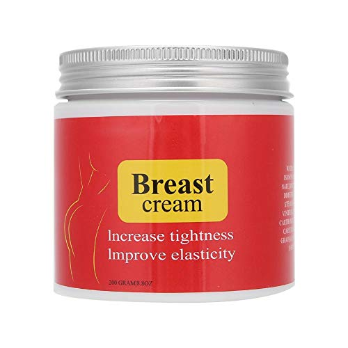 Qkiss 200g Crema per l aumento del seno, naturalmente più pieno rassodante, naturalmente più pieno, rassodante, allargante Crema per il seno Cura del seno per busto e culo