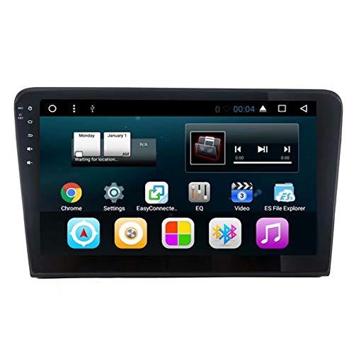 TOPNAVI 10.1Inch Car Audio pour VW Bora 2013 2014 2015 Android 7.1 Radio Navigation GPS stéréo avec 2 Go de RAMWIFI 3G RDS Lien Miroir FM AM Bluetooth Vidéo