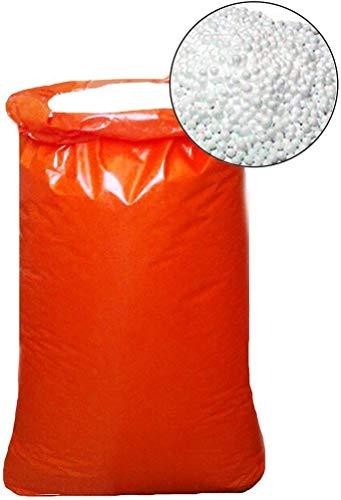 Bepouf Perle EPS Palline Polistirolo per Riempimento Pouf Ricarica Poltrone Sacco (250 L)
