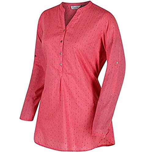 Regatta Mackayla Chemises Femme, Rose désert, 48
