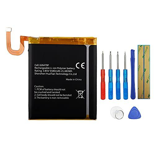 Swark Batería compatible con Blackview BV9600 y BV9600 Pro 626479P con herramientas.