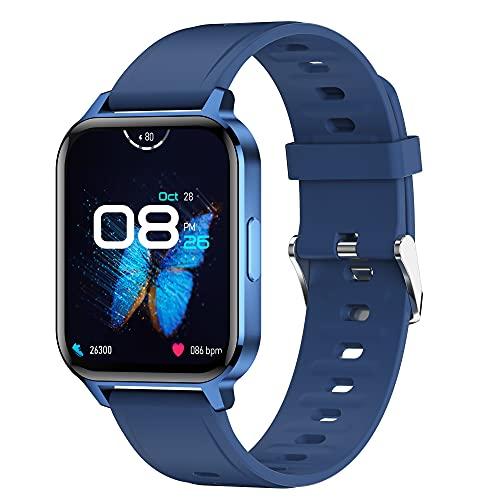 Smartwatch 1.7   Full Screen Orologio Orologio Fitness Tracker Uomo Donna, Bluetooth Smart Watch Cardiofrequenzimetro da Polso Schermo Orologio Fitness Impermeabile IP68 Activity Tracker