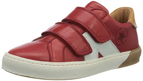 Bisgaard Unisex-Kinder Kiel Sneaker, Rot (red 1901), 30 EU