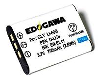 EDOGAWA LI-60B 互換バッテリー  OLYMPUS オリンパス ED-BAT224205