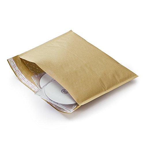 サンワダイレクト クッション封筒 B5収納対応 【50枚セット】 封かんシール付 ネコポス便対応サイズ 300-CFT003
