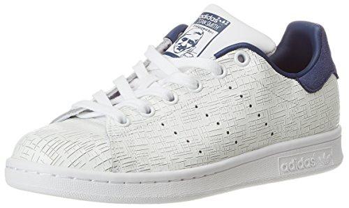 adidas Damen Stan Smith Fitnessschuhe, Weiß (Ftwbla/Ftwbla/Indnob 000), 38 2/3 EU