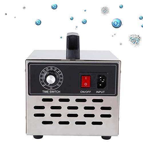De ozono comercial de 10000Mg / H, purificador de aire industrial O3 |Desodorante |Esterilizador para el hogar, la oficina, el barco y el coche, portátil