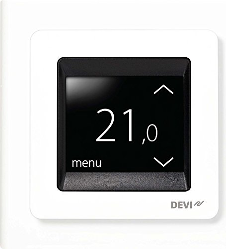 Devi UP-Uhrenthermostat devireg Touch m.Rahm 16A 230V Uhrenthermostat 5703466215135