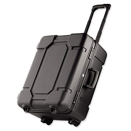bwh Koffer Mobil-Teleskopic Transportkoffer schwarz 2 Rollen 60 cm 31cm