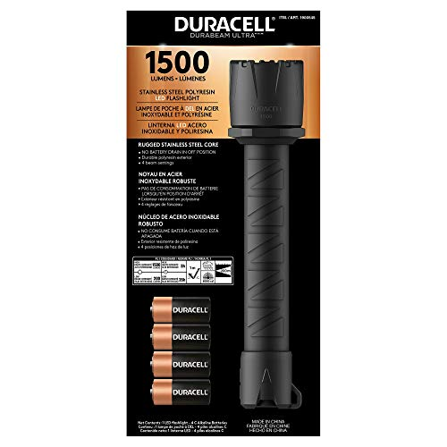 Duracell 1500 Lumen Flashlight