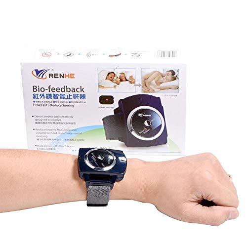 Pulsera infrarroja elegante anti que ronca que ronca la pulsera del reloj de la...