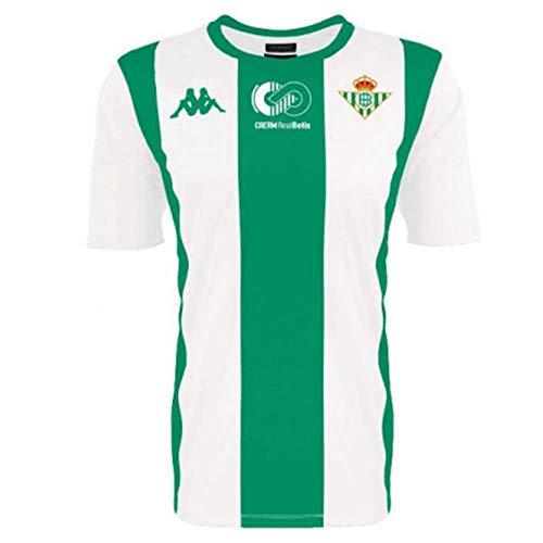 Kappa FIFA Camiseta Oficial Cream Real Betis, Unisex Adulto, Verde/Blanco, 2XL