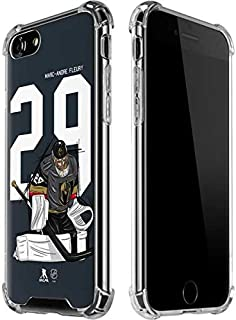 Skinit Clear Phone Case for iPhone 8 - Officially Licensed NHL Players Marc-Andre Fleury #29 Action Sketch Design