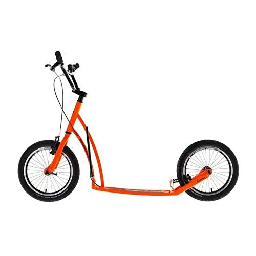 Unbekannt MIBO Tretroller Footbike Professional Orange