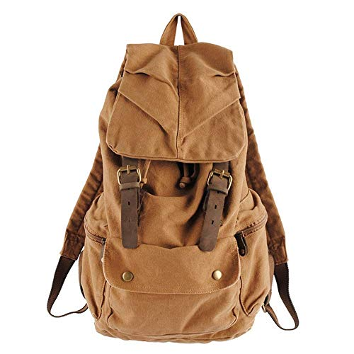 Men's and Women's Casual Backpacks Hiking Bags Laptop Bags School Bags Large Capacity Canvas Bags