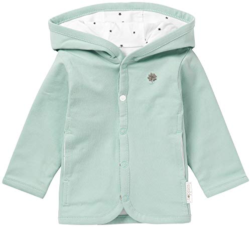 Noppies Baby-Unisex U Cardigan Jrsy REV Nusco Strickjacke, Grau (Grey Mint C175), 68