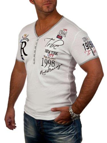 Redbridge Herren Red Bridge Men's RB2029 Poloshirt, Weiß (White), XXL
