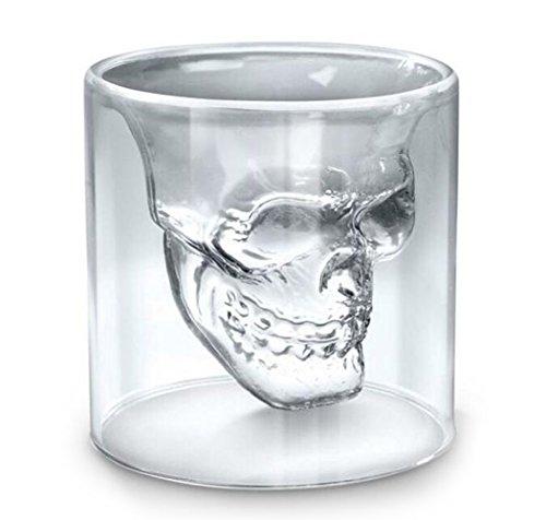 LLQ Bar Shot Gläser Trinkgläser für Wasser, Saft, Bier, Wein, Whisky und Cocktails