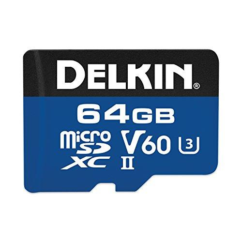 Delkin 64GB microSDXC 1900X...