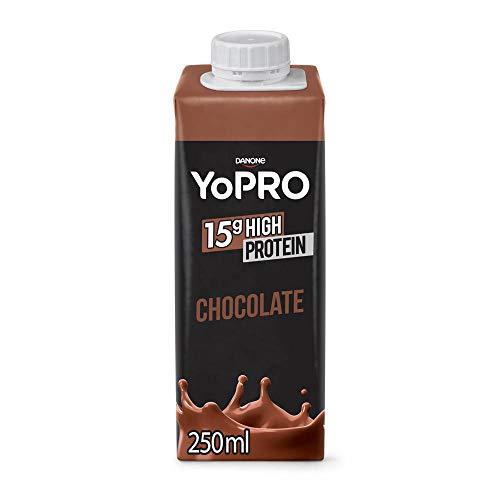 YoPRO Bebida Láctea UHT Chocolate 15g de proteínas 250ml