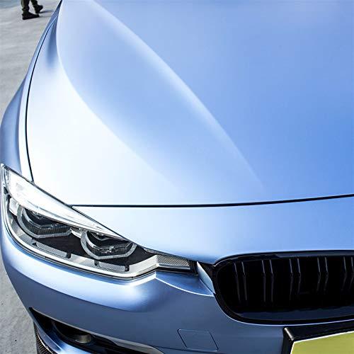 EODUDO-S Auto-Vinylfilm-Verpackungs-Auto-Innenraum wasserdicht Dekoration-Aufkleber-Auto-Styling-Zubehör Wrapping Aufkleber Anti-Kratz (Color Name : Blue car wrap, Size : 1.52x0.5m)