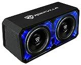 Rockville DV12K6D2 Dual 12' 4800w Car Audio Subwoofers Plexi Sub...