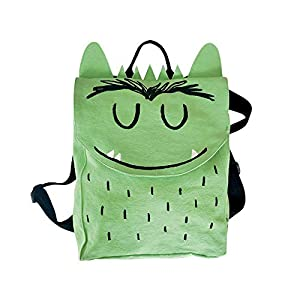 El monstruo de colores , Mochila (Verde)