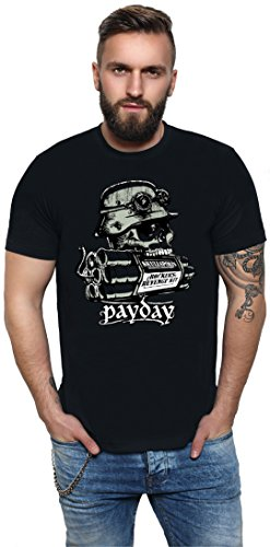 King Kerosin Payday Regular T-shirt zwart