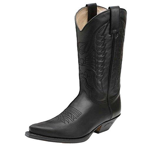 Sendra 2073 Cowboy Boots, Farbe:Black;Größe:46
