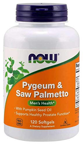 Now Foods: Pygeum & Saw Palmetto Extract, 120 sgels (2 pack)