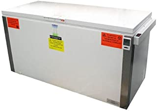 Summit: VLT2250 22.0 cu. ft. Freestanding Laboratory Chest Freezer with Manual Defrost, Capable of -35 Degrees C Operation, Alarm, Temperature Display, Lock and Casters